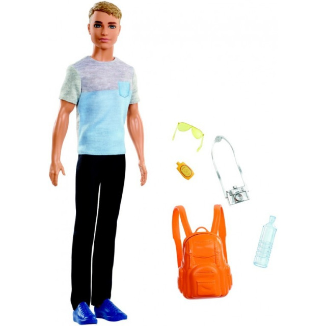 Obrázek produktu Barbie Ken cestovatel, Mattel FWV15