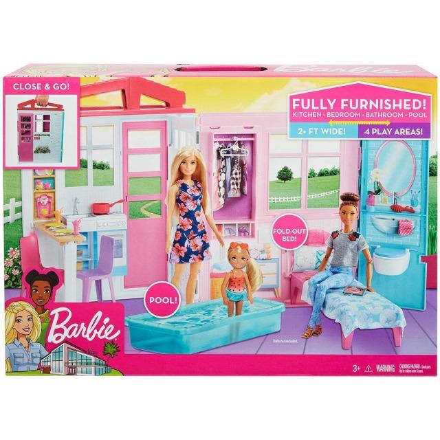 Obrázek produktu Mattel Barbie Útulný dům, FXG54