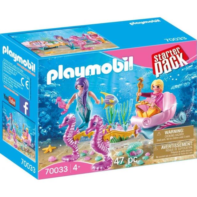 Obrázek produktu Playmobil 70033 Mořský kočár s koníky