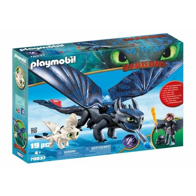 Obrázek produktu Playmobil 70037 Dragons Bezzubka a Škyťák
