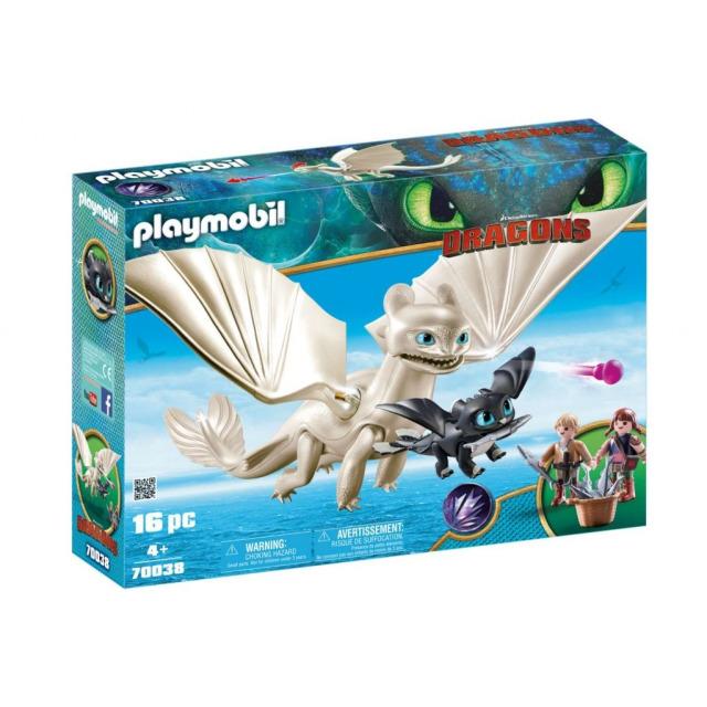 Obrázek produktu Playmobil 70038 Dragons Bílá Běska