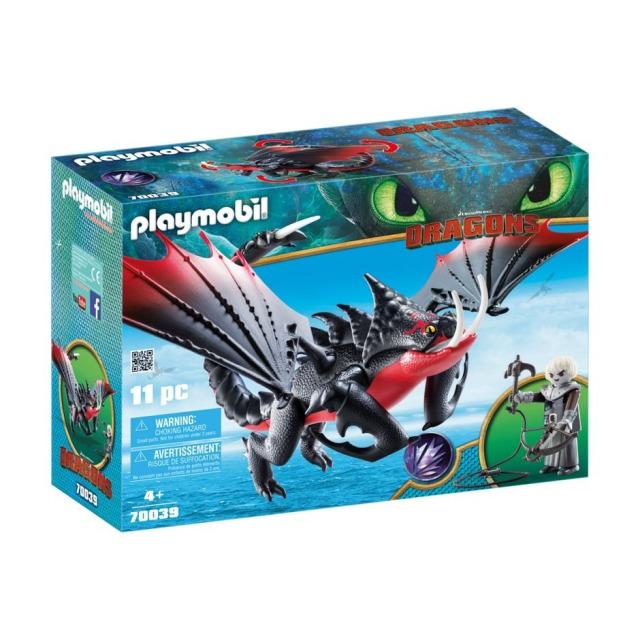 Obrázek produktu Playmobil 70039 Dragons Jedosmrťák a Grimmel