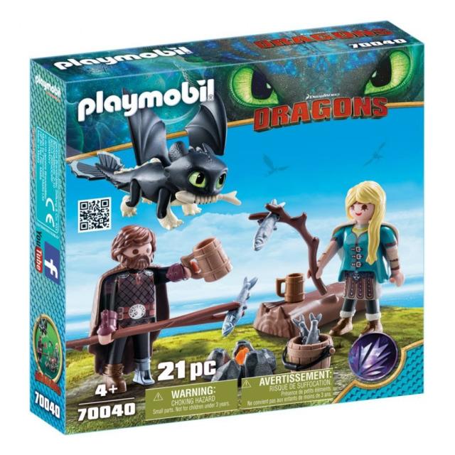 Obrázek produktu Playmobil 70040 Dragons Škyťák a Astrid