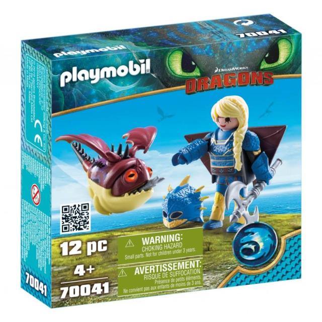 Obrázek produktu Playmobil 70041 Dragons Astrid v létacím plášti a Trnožrout