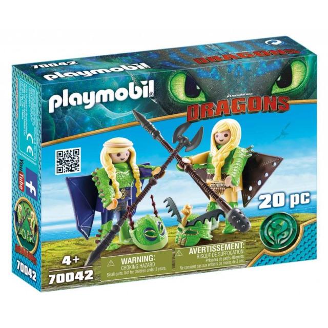 Obrázek produktu Playmobil 70042 Rafana a Ťafan v létacím plášti