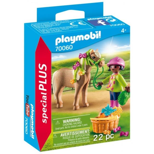 Obrázek produktu Playmobil 70060 Dívka s poníkem