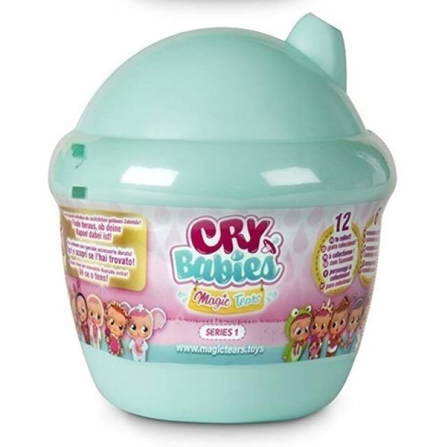 Obrázek produktu Panenka Cry Babies magické slzy zelený domeček