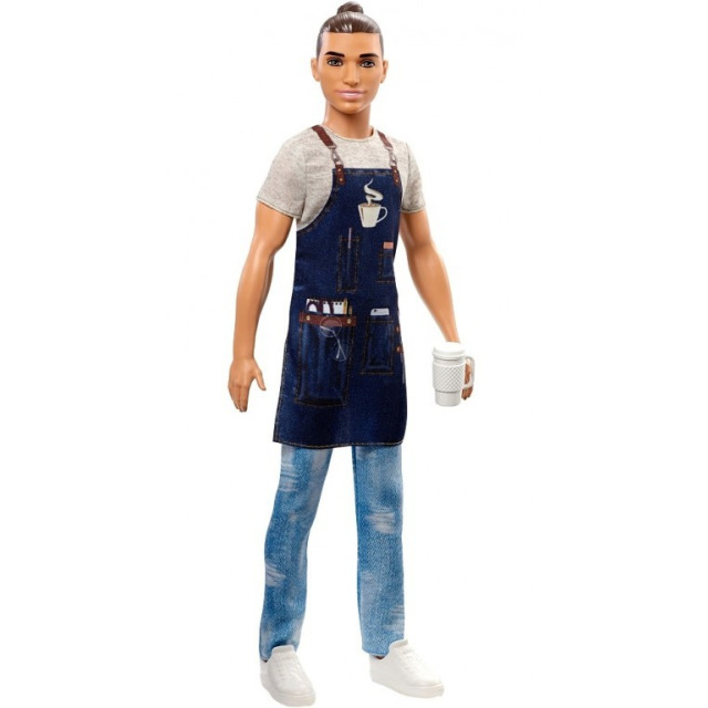 Obrázek produktu Mattel Barbie Ken Barista, FXP03