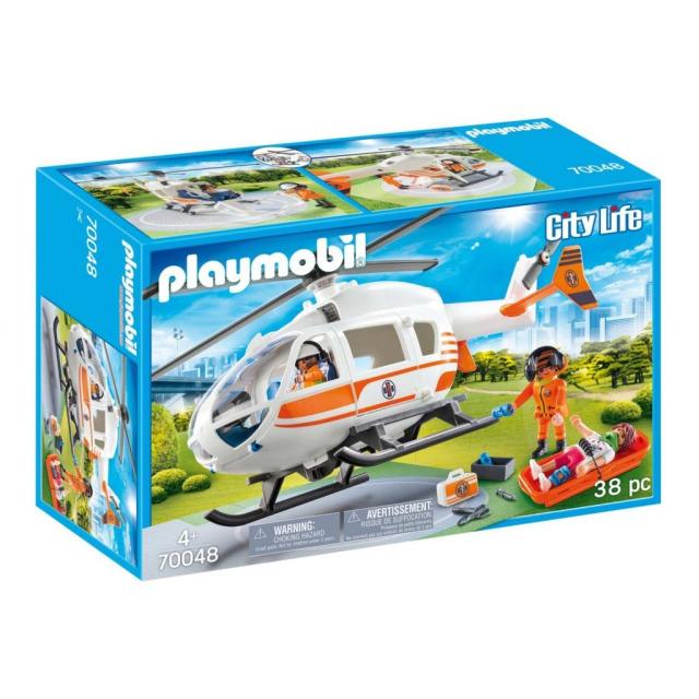 Obrázek produktu Playmobil 70048 Záchranný vrtulník