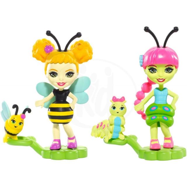 Obrázek produktu ENCHANTIMALS Housenka a Včelka, Mattel FXM88