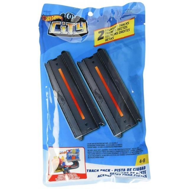 Obrázek produktu Hot Wheels Dráha rovná 2 ks, Mattel FXM39