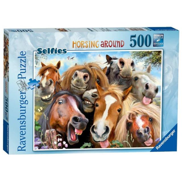 Obrázek produktu Ravensburger 14695 Puzzle S koňmi 500 dílků