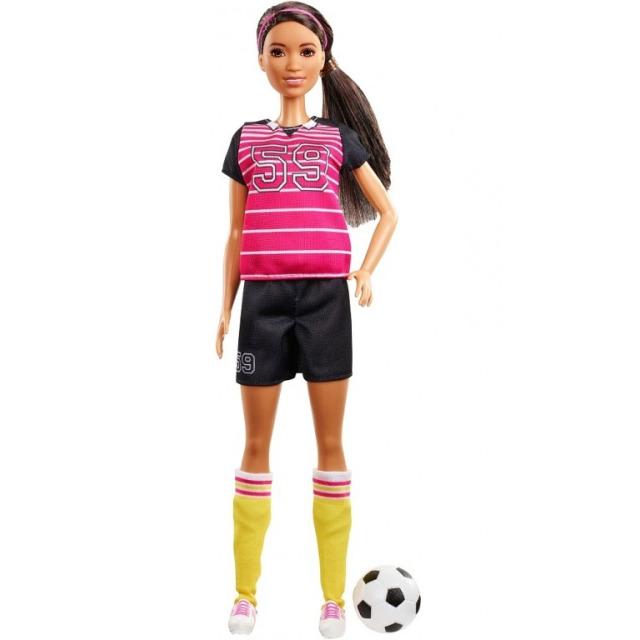 Obrázek produktu Barbie Povolání 60. výročí Fotbalistka, Mattel GFX26