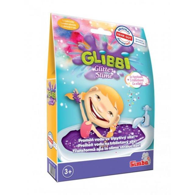 Obrázek produktu Glibbi Slime Sliz fialový třpytivý