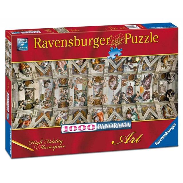 Obrázek produktu Ravensburger 15062 Puzzle Sixtinská kaple 1000 dílků
