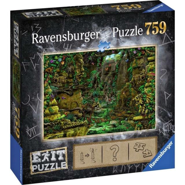 Obrázek produktu Ravensburger 19951 Exit Puzzle: Chrám v Ankor 759 dílků