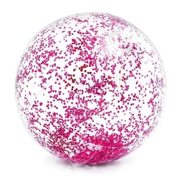 Obrázek produktu Intex 58070 Balón flitrový růžový
