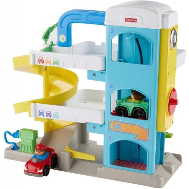 Obrázek produktu Fisher Price Little People Garáž, Mattel FHG50