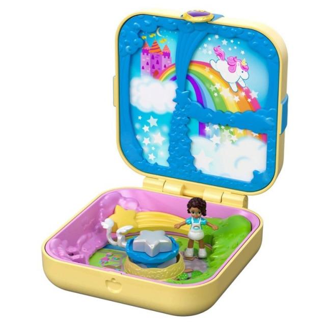 Obrázek produktu Polly Pocket Pidi svět v krabičce - Jednorožec z Utopie Mattel GDK78