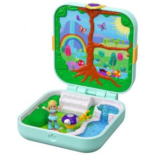 Obrázek 1 produktu Polly Pocket Pidi svět v krabičce - Čarovný les Mattel GDK79
