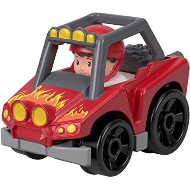 Obrázek produktu Little People mini autíčko Terénní bugina červená, Fisher Price FHB95
