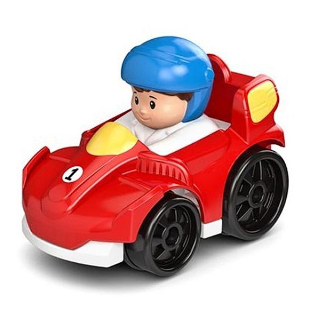 Obrázek produktu Little People mini autíčko Formule 1 červená, Fisher Price DFT65