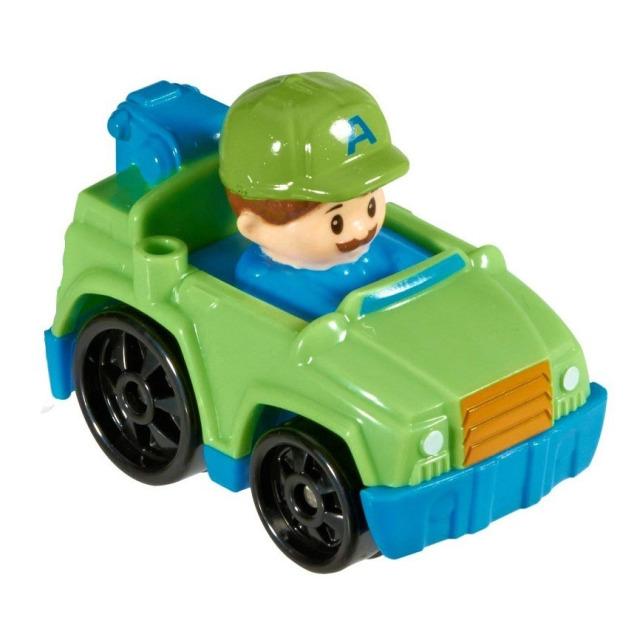 Obrázek produktu Little People mini autíčko Odtahovka zelená, Fisher Price DRG95