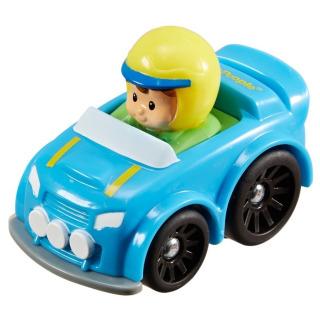 Obrázek 1 produktu Little People mini autíčko Rally modré, Fisher Price Y3702