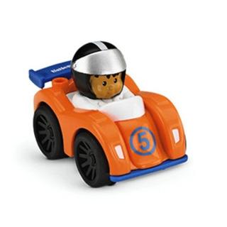 Obrázek 1 produktu Little People mini autíčko oranžový závoďák, Fisher Price Y3703