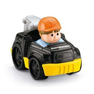 Obrázek 1 produktu Little People mini autíčko Odtahovka černá, Fisher Price Y5959