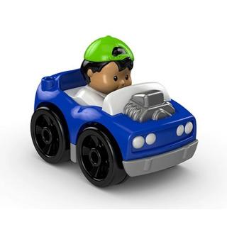 Obrázek 1 produktu Little People mini autíčko Hot Rod modré, Fisher Price DFP14