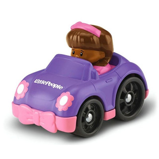 Obrázek 1 produktu Little People mini autíčko Mia fialové, Fisher Price BGC62