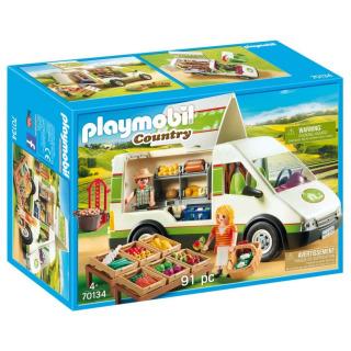 Obrázek 1 produktu Playmobil 70134 Pojízdná prodejna bioproduktů