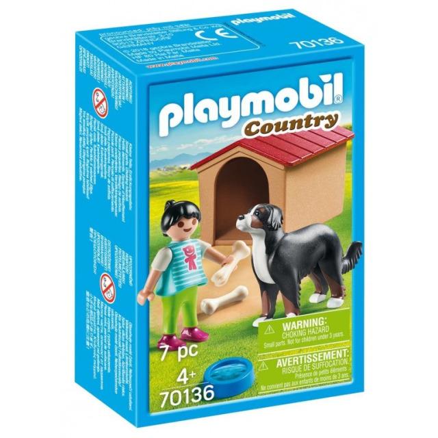 Obrázek produktu Playmobil 70136 Švýcarský salašnický pes v boudě