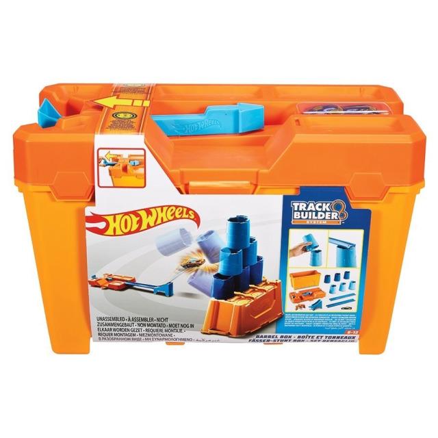 Obrázek produktu Hot Wheels Track Builder barel box, Mattel GCF91