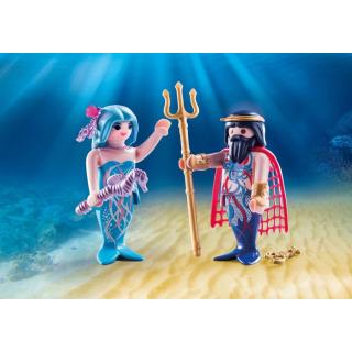 Obrázek 1 produktu Playmobil 70082 Neptun a mořská víla