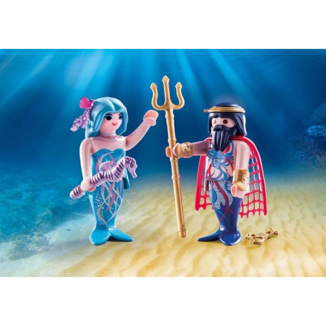 Obrázek produktu Playmobil 70082 Neptun a mořská víla