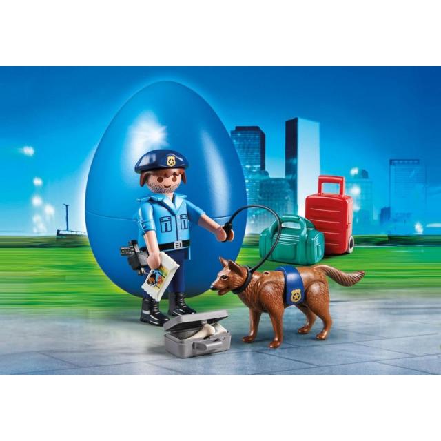 Obrázek produktu Playmobil 70085 Policista se psem, vajíčko