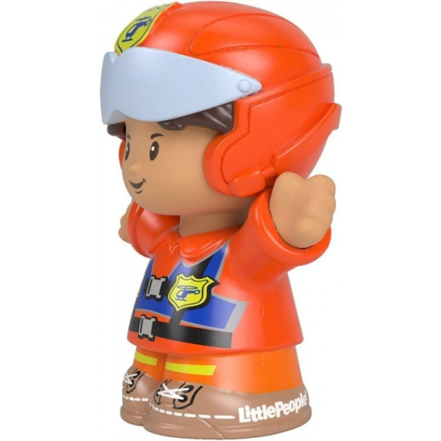 Obrázek produktu Fisher Price Little People Figurka Pilot Louis, Mattel FGX52