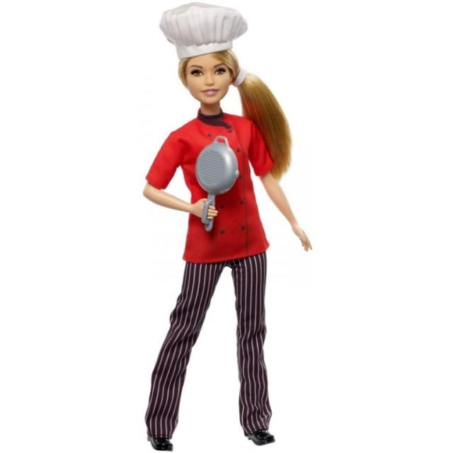 Obrázek produktu Barbie První povolání Šéfkuchařka, Mattel FXN99