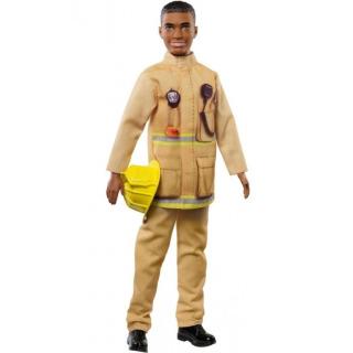 Obrázek 1 produktu Barbie Ken Požárník, Mattel FXP05