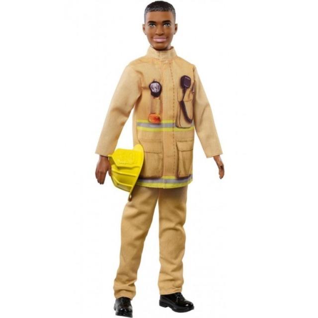 Obrázek produktu Barbie Ken Požárník, Mattel FXP05