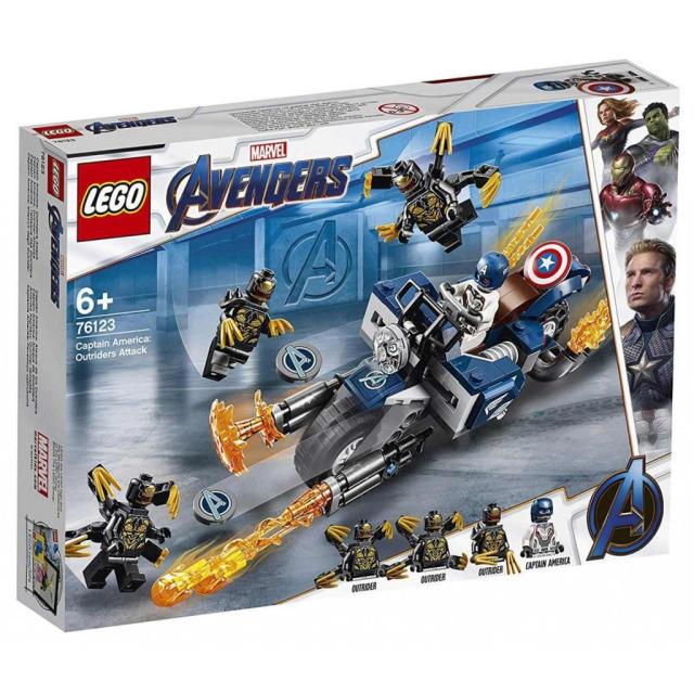 Obrázek produktu LEGO Super Heroes 76123 Captain America: útok Outridů