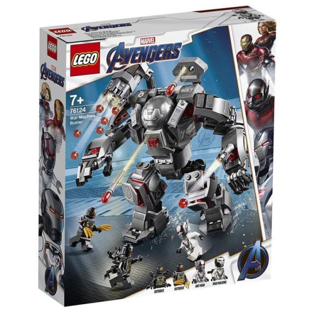 Obrázek produktu LEGO Super Heroes 76124 War Machine v robotickém obleku