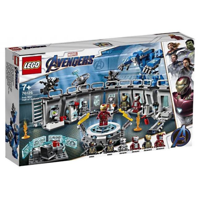 Obrázek produktu LEGO Super Heroes 76125 Iron Man a jeho obleky