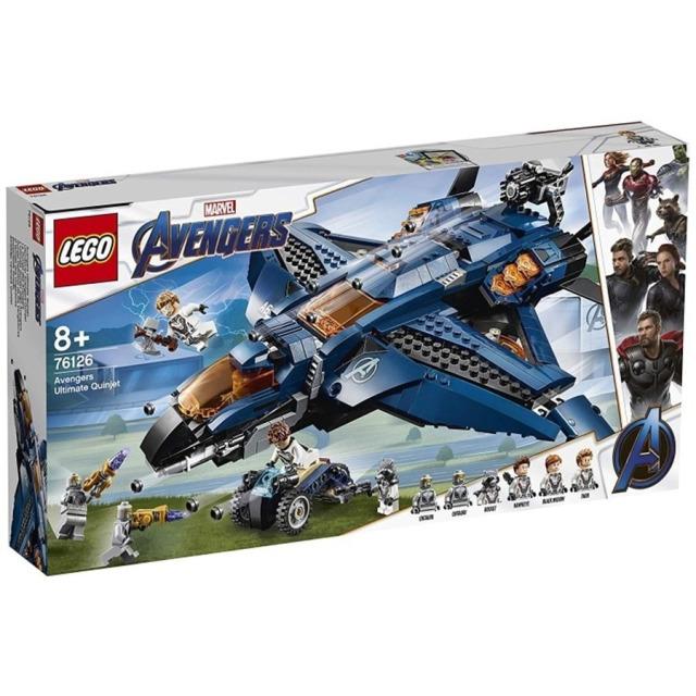Obrázek produktu LEGO Super Heroes 76126 Parádní tryskáč Avengerů