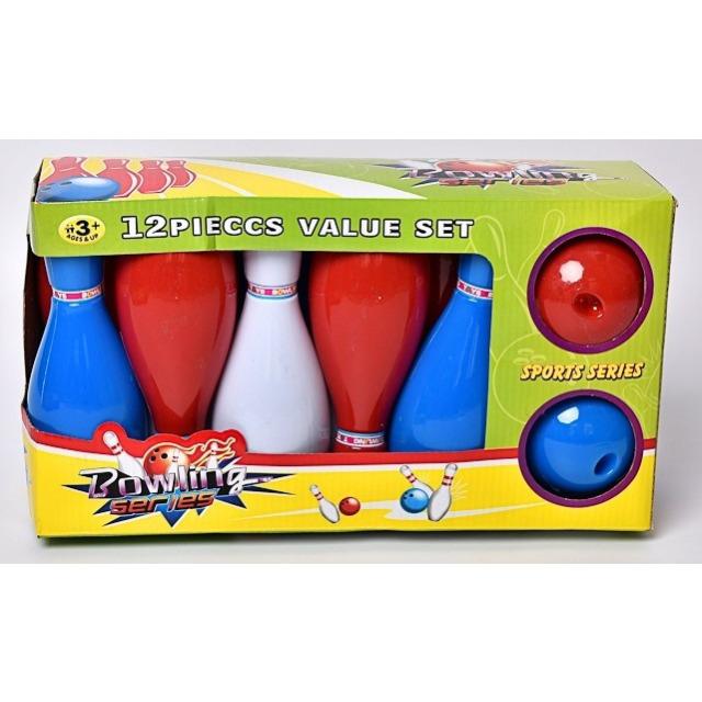 Obrázek produktu Bowlingový set, 10 kuželek + 2 koule
