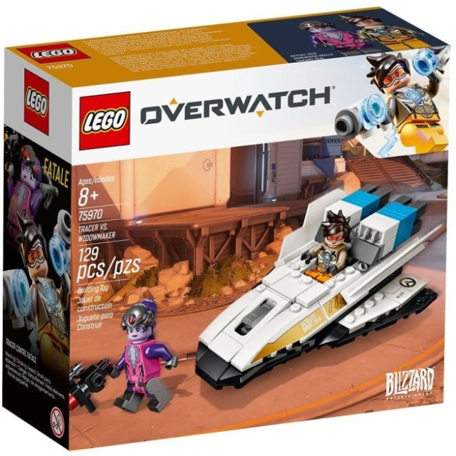 Obrázek produktu LEGO Overwatch 75970 Tracer vs. Widowmaker