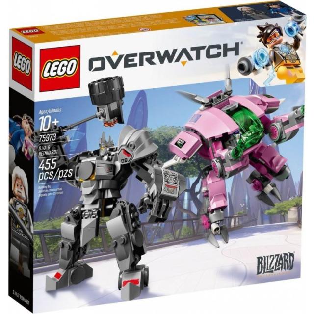 Obrázek produktu LEGO Overwatch 75973 D.Va a Reinhardt