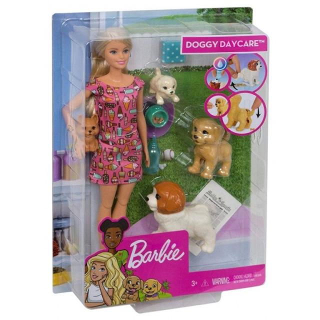 Obrázek produktu Barbie Péče o štěňátka, Mattel FXH08